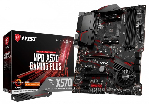 MSI MPG X570 Gaming Plus AMD X570 Socket AM4 ATX