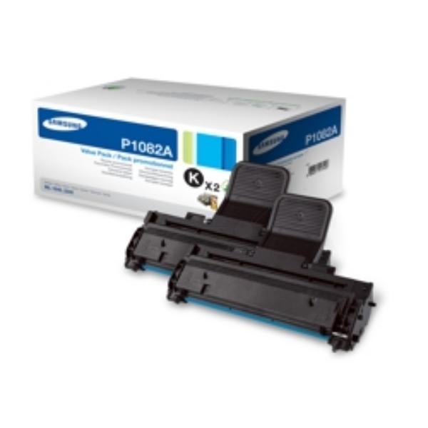 Samsung MLT-P1082A/ELS (P1082A) Toner black, 1.5K pages, Pack qty 2