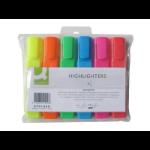 Q-CONNECT KF01909 felt pen Fine/Medium Blue, Green, Orange, Pink, Red, Yellow 6 pc(s)