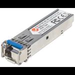 Intellinet Gigabit Fibre WDM Bi-Directional SFP Optical Transceiver Module, 1000Base-Lx (LC) Single-Mode Port, 10km, WDM (Rx1550/Tx1310), Fiber, Equivalent to Cisco GLC-BX-U, Three Year Warranty