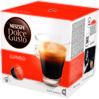 Nescafe Caffe lungo for Nescafe Dolce Gusto Machine Ref 12019900 [Packed 48]