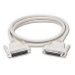 C2G 2m DB25 M/F Modem Cable