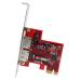 StarTech.com 2 Port SATA 6 Gbps PCI Express eSATA Controller Card PEXESAT32