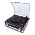 Camry CR1113 audio turntable Belt-drive audio turntable Black, Chrome, Wood