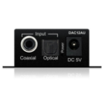 Blustream DAC12AU audio converter Black
