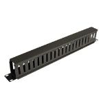 Tripp Lite Rack Enclosure Server Cabinet Horizontal Cable Manager (finger duct) 1URM