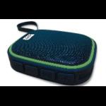 Ghia SPK-1445 Stereo portable speaker 6W Negro, Verde dir