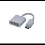 Microconnect Displayport - DVI m/f 0.15 m White