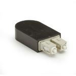 Black Box FOLB50M1-SC fiber optic adapter Black, White