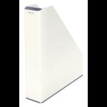 Leitz WOW Polystyrene Metallic,White desk tray
