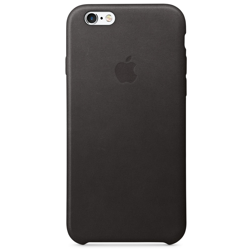 Apple iPhone 6s Leather Case - Black