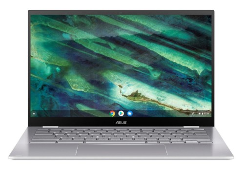 "ASUS Chromebook Flip C436FA-E10128 notebook LPDDR3-SDRAM 35.6 cm (14"") 1920 x 1080 pixels Touchscreen 10th gen Intel® Core™ i5 8 GB 128 GB SSD Wi-Fi 6 (802.11ax) Chrome OS Silver"