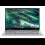 "ASUS Chromebook Flip C436FA-E10128 notebook 35.6 cm (14"") 1920 x 1080 pixels Touchscreen 10th gen Intel® Core™ i5 8 GB LPDDR3-SDRAM 128 GB SSD Wi-Fi 6 (802.11ax) Chrome OS Silver"