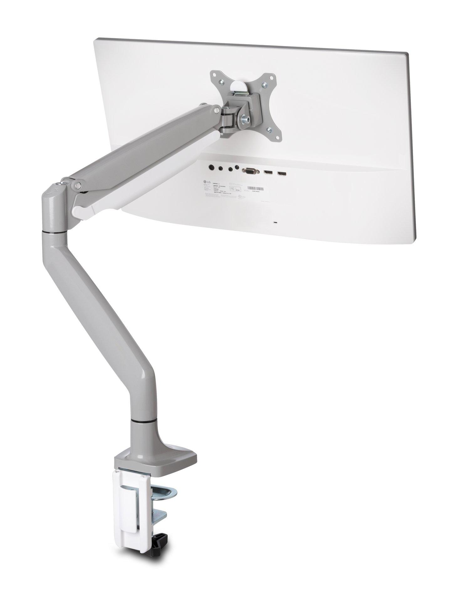 """Kensington K55470EU soporte de mesa para pantalla plana 81,3 cm (32"""") Abrazadera/Atornillado Gris, Plata"""