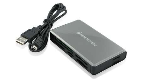 iogear GFR281W6 card reader Grey USB 2.0