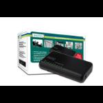 Digitus N-Way 8-port switch Unmanaged Black