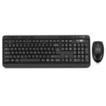 Adesso WKB-1320CB keyboard RF Wireless QWERTY Black
