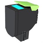 Lexmark 70C2XCE (702XC) Toner cyan, 4K pages