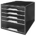Leitz 52530095 Black desk drawer organizer