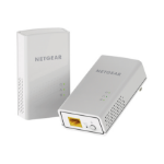 Netgear PL1200 1200Mbit/s Ethernet LAN White 2pc(s)