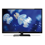 "Cello C28227DVB 28"" HD Black LED TV"