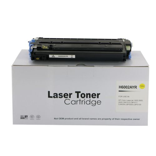 Remanufactured HP Q6002A (124A) / Canon EP707Y Yellow Toner Cartridge