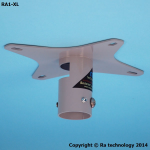 Ra technology RA1-XL Ceiling Grey project mount