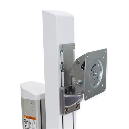 """Ergotron 98-029 flat panel desk mount 68.6 cm (27"""") Metallic,White"""