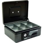 ESSELTE CASH BOX DELUXE NO 8 197 X 154 X 80MM GRAPHITE