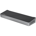 StarTech.com Dual monitor KVM USB 3.0 docking station voor twee laptops USB 3.0