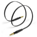 TYLT - Audio cable - stereo mini jack (M) to stereo mini jack (M) - 1 m - black - flat