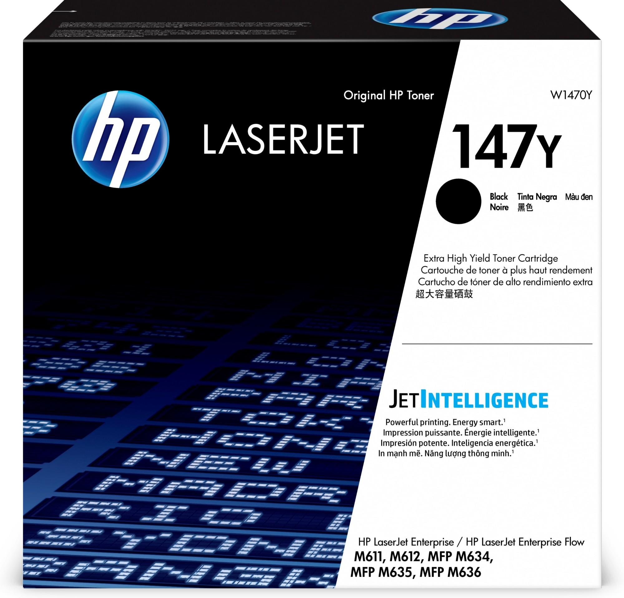 HP W1470Y (147Y) Toner black, 42K pages