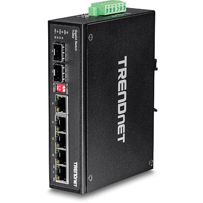 Trendnet TI-G62 switch No administrado L2 Gigabit Ethernet (10/100/1000) Negro
