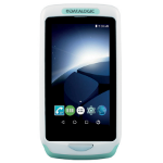 "Datalogic Joya Touch A6 HC ordenador móvil industrial 10,9 cm (4.3"") 854 x 480 Pixeles Pantalla táctil 305 g Cian, Blanco"