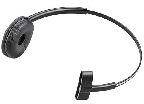 Plantronics 84605-01 Monaural Head-band Black headset