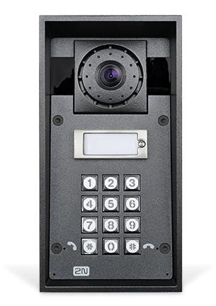 2N Telecommunications IP Force video intercom system Grey