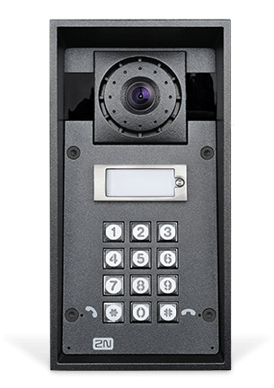 2N Telecommunications IP Force video intercom system Grey