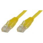 Microconnect UTP6002Y 0.2m Yellow networking cable