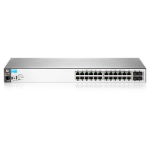 Hewlett Packard Enterprise BladeSystem 2530-24G Managed Gigabit Ethernet (10/100/1000) Rack (1U) Black