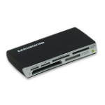 Manhattan Multi-Card Reader/Writer, USB 2.0, 60-in-1, 480 Mbps, Windows or Mac, Black, Blister
