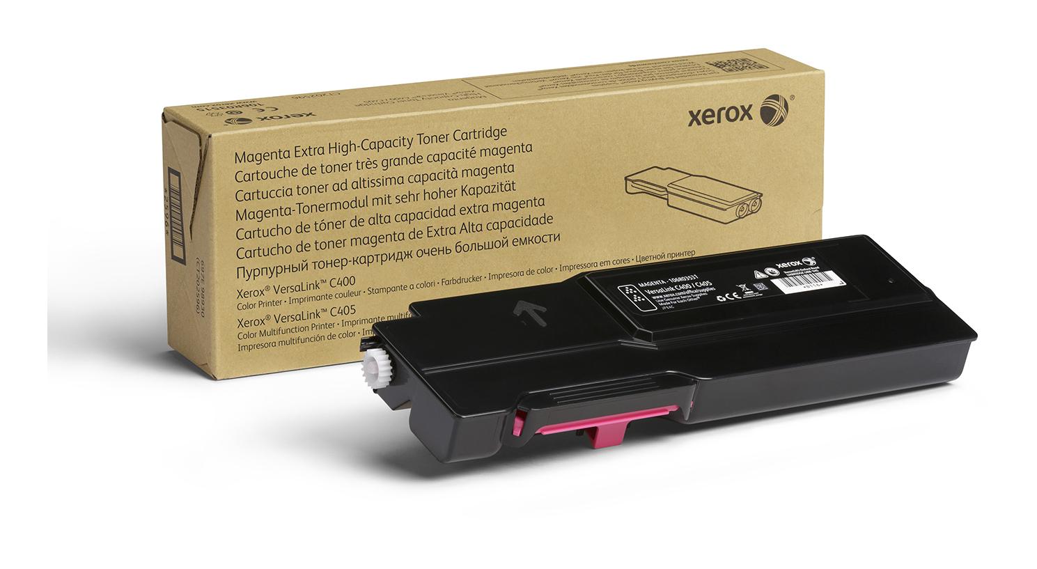 Xerox VersaLink C400/C405 cartucho de tóner magenta de capacidad máxima (8000 páginas)