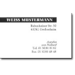 DECAdry OCB-3261 business card 150 pc(s)