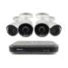 Swann SWDVK-849804 8 Channel 5MP Super HD DVR-4980 & 4 x 5MP Cameras 2TB HDD CCTV KIT