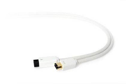 Techlink WiresMEDIA, FireWire 800 - FireWire 400 White 2 m