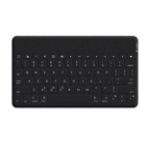 Logitech Keys-To-Go mobile device keyboard Black AZERTY French Bluetooth