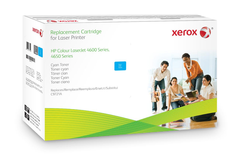 Xerox Cartucho de tóner cian. Equivalente a HP C9721A. Compatible con HP Colour LaserJet 4600/4650