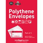 POSTPAK POLY ENVELOPES 460 X 430 PK 5
