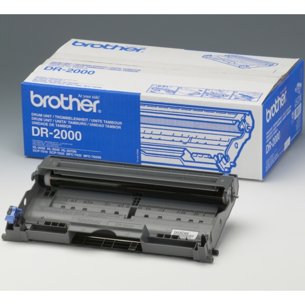 Brother DR-2000 Drum kit, 12K pages @ 5% coverage