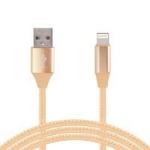 Ghia USB A - Lightning, 1m Oro cable de teléfono móvil dir