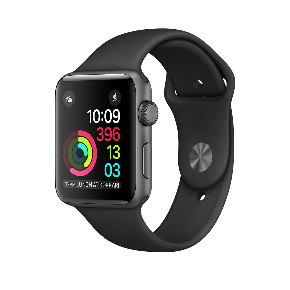 Apple Watch Series 2 OLED 28.2g Grey smartwatch